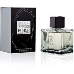 Antonio Banderas Splash Seduction Black for men 100ml (Туалетная вода)